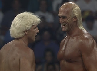 WCW Bash at the Beach 1994 - Hulk Hogan made his WCW in-ring debut, capturing the world title from Ric Flair