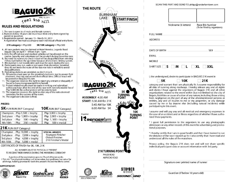 out of town run baguio fun run 2011