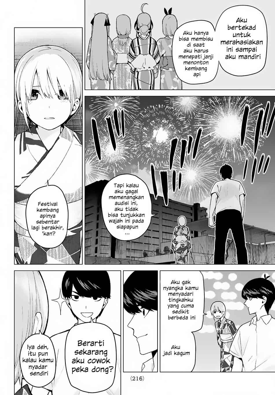 Baca Komik Go-toubun No Hanayome Chapter 11 Bahasa Indonesia