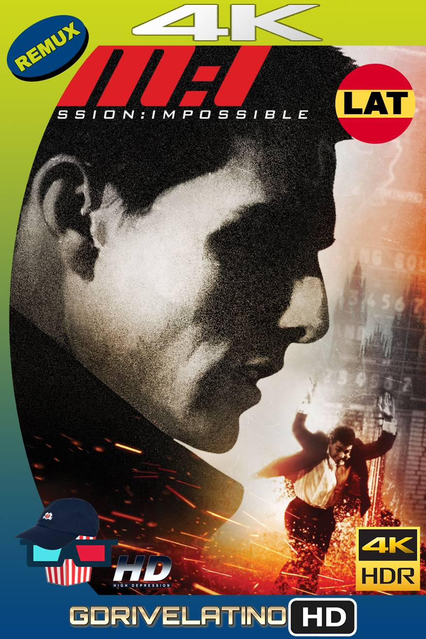 Mission: Impossible (1996) BDREMUX HDR Latino-Castellano-Ingles MKV