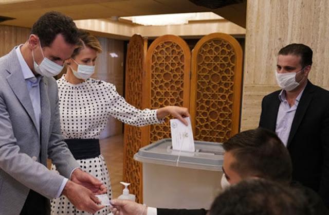 اخبار سوريا ..الانتخابات السورية تشهد اقبالا ضعيف نتيجة الحرب الذي دمرتة