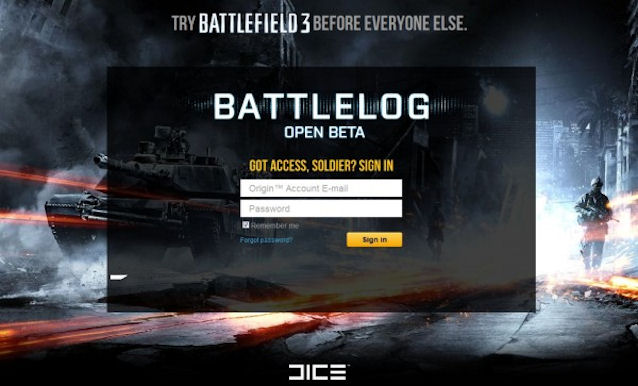 RUMOR: Estaria Battlefield 3 Beta mais próximo do que