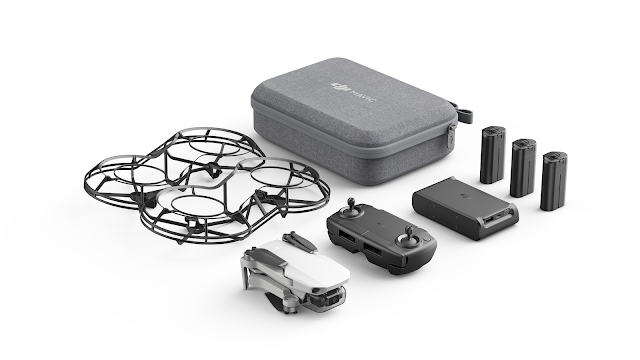 Take To The Skies With #MavicMiniSA @DJIGlobal Lightest And Smallest Foldable #Drone