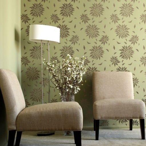 Motif Wallpaper Dinding Ruang Tamu Minimalis Elegan Terbaru