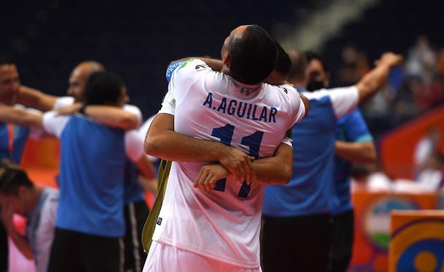 Guatemala comemora vitória em abertura da Copa do Mundo FIFA de Fusal