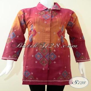 dress batik embos
