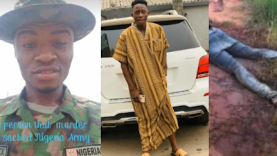Man Robbed And Killed By Sacked Soldier On Illegal Patrol In Imo (Viewers Discretion)