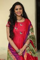 Manasa in Pink Salwar At Fashion Designer Son of Ladies Tailor Press Meet Pics ~  Exclusive 05.JPG