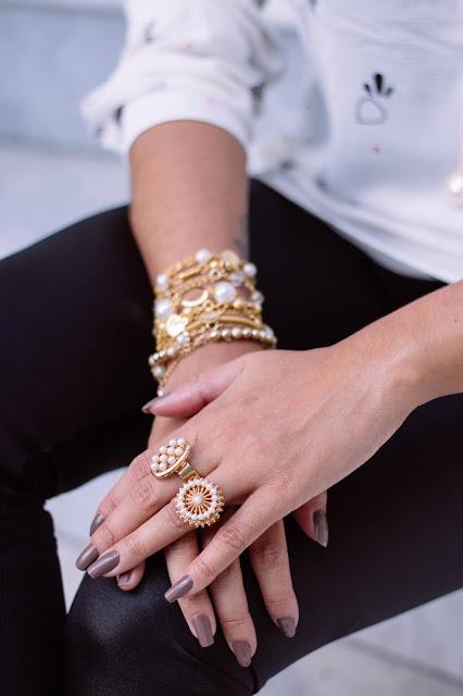 Jewelry put on