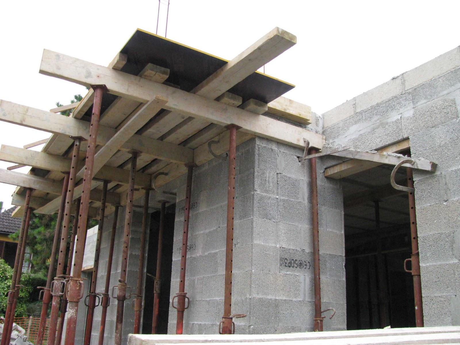 je fais construire ma maison coulage du plancher 6 7. Black Bedroom Furniture Sets. Home Design Ideas