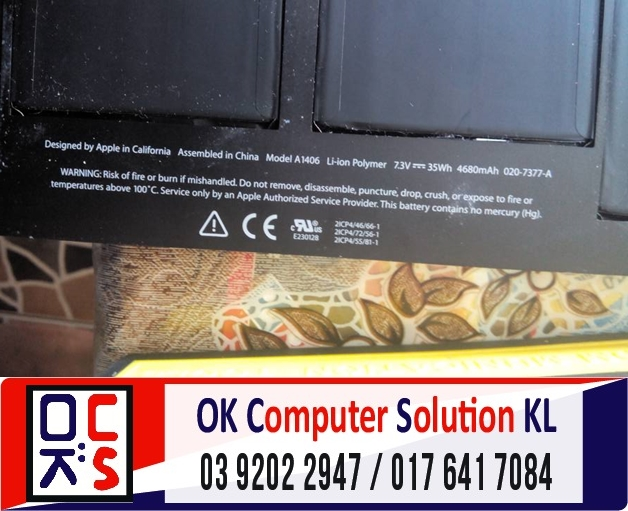 [SOLVED] BATERI MAC AIR A1370 ROSAK | REPAIR MAC DESA PANDAN 4