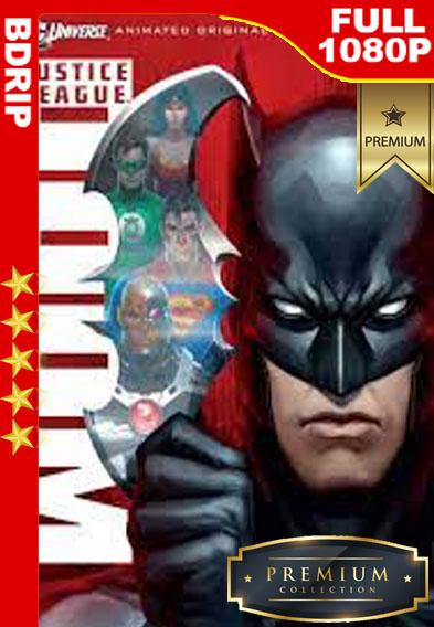 Liga de la Justicia: Perdición (2012) [1080p BDrip] [Latino-Inglés] [LaPipiotaHD]