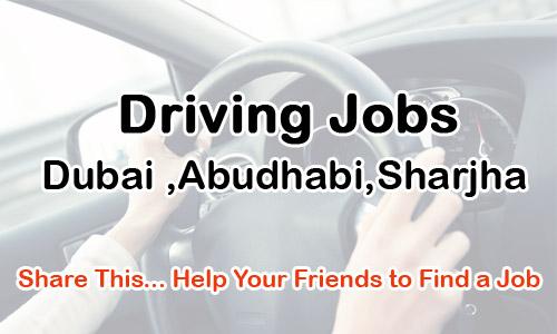 Driving Jobs in Dubai ,Abudhabi,Sharjha