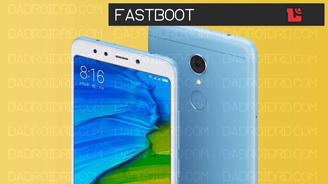 Cara Fastboot Xiaomi Redmi 5 Plus