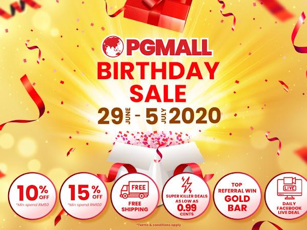 PG Mall Birthday Sale !