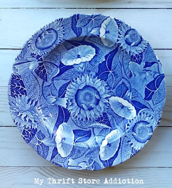 Spode Blue Room Sunflower Etsy