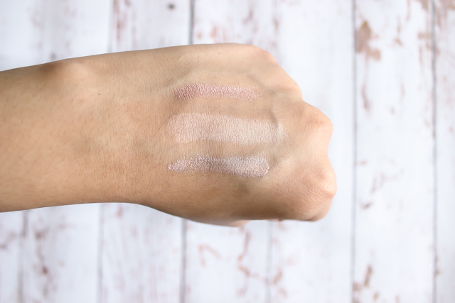 Drugstore Highligher Swatches