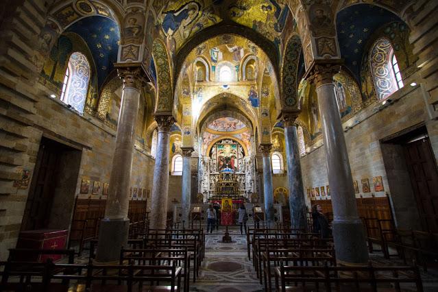 Chiesa della Martorana (o Santa Maria dell'Ammiraglio)-Palermo