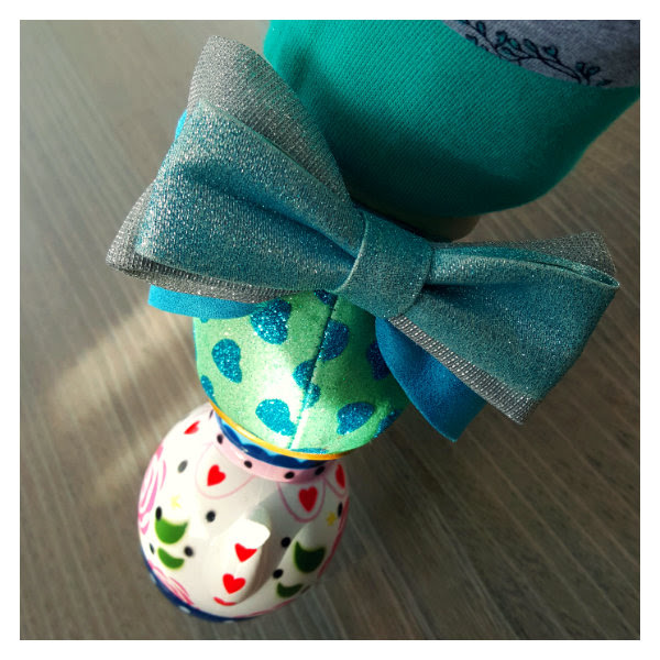 wearing irregular choice alice my cup of tea blue bow detail