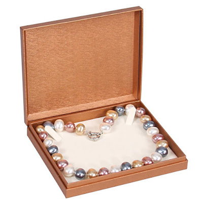 Shop Wholesale Deluxe Copper Paper Necklace Boxes at NileCorp.com