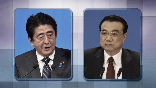 Japón y China se reúnen mientras aumentan las tensiones marítimas en el este de Asia