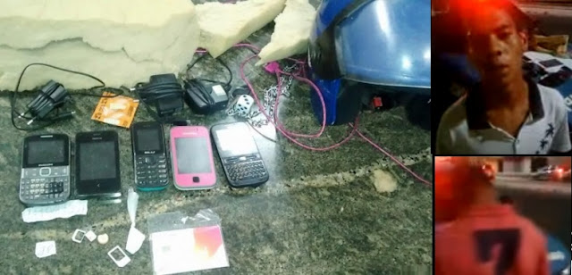 ROMU da Guarda Municipal de Natal (RN) evita entrada de celulares no presídio Raimundo Nonato