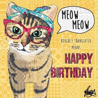 happy birthday baby cat