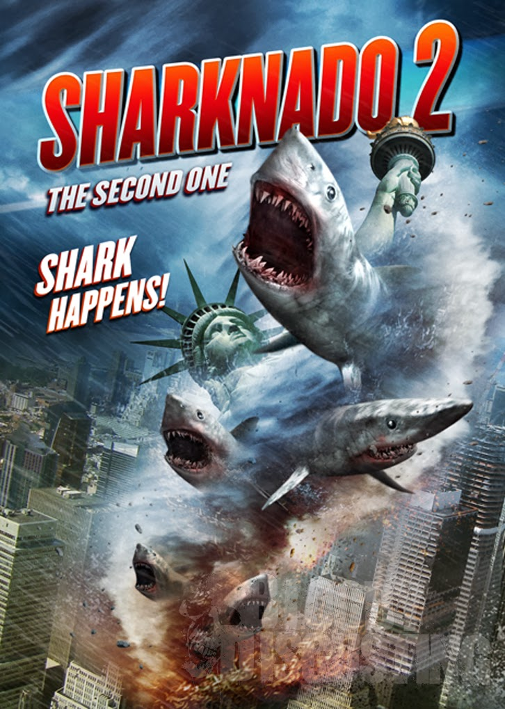 Sharknado 2: The Second One airs on SyFy in July