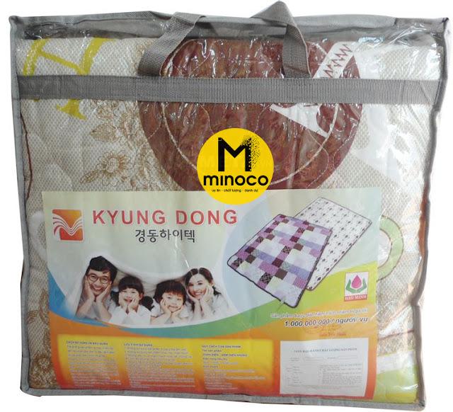 Chăn điện vải Kyung dong cotton Hàn Quốc (135cm x 180cm)