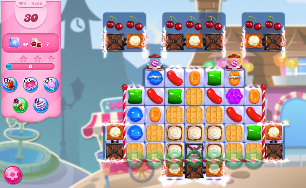 Candy Crush Saga level 5460