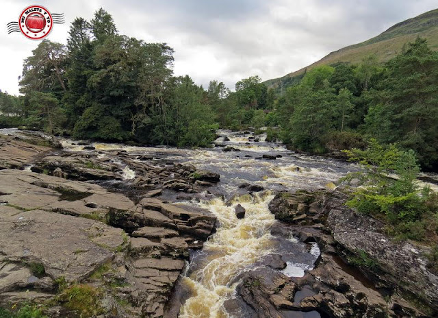 Escocia, Killin - Falls of Dochart