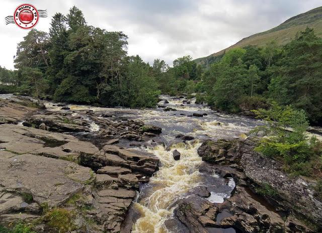 Escocia, Killin - Falls of Dochart