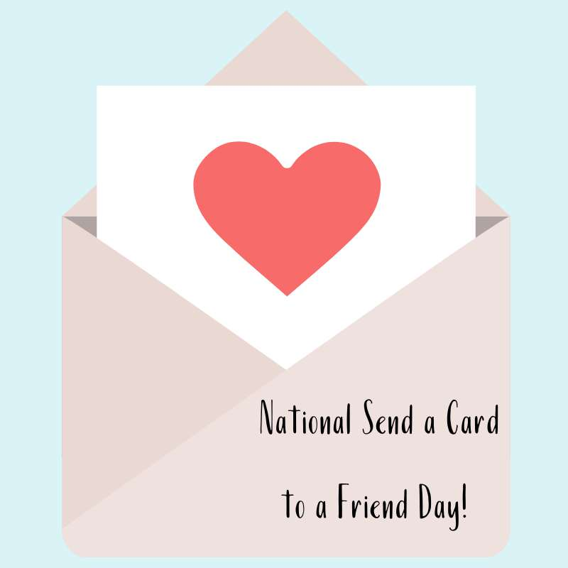 National Send a Card to a Friend Day Wishes Awesome Images, Pictures, Photos, Wallpapers