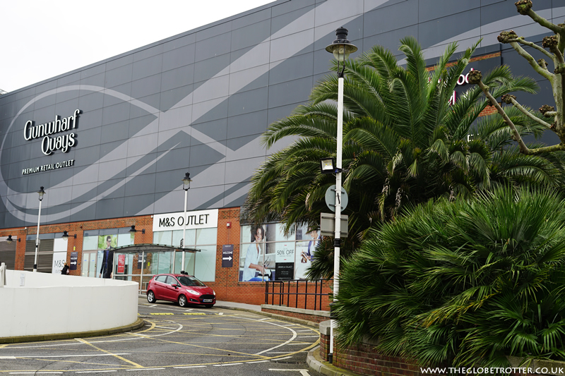 Gunwharf Quays Waterfront Outlet Shopping