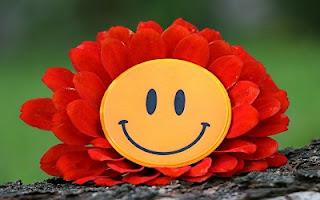 Fiore con sorriso