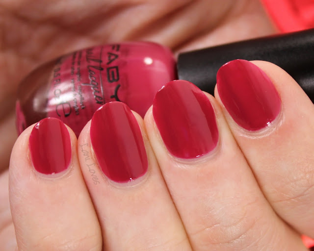Faby Posh Collection - Bond Street Is My House Nail Polish Swatches & Review
