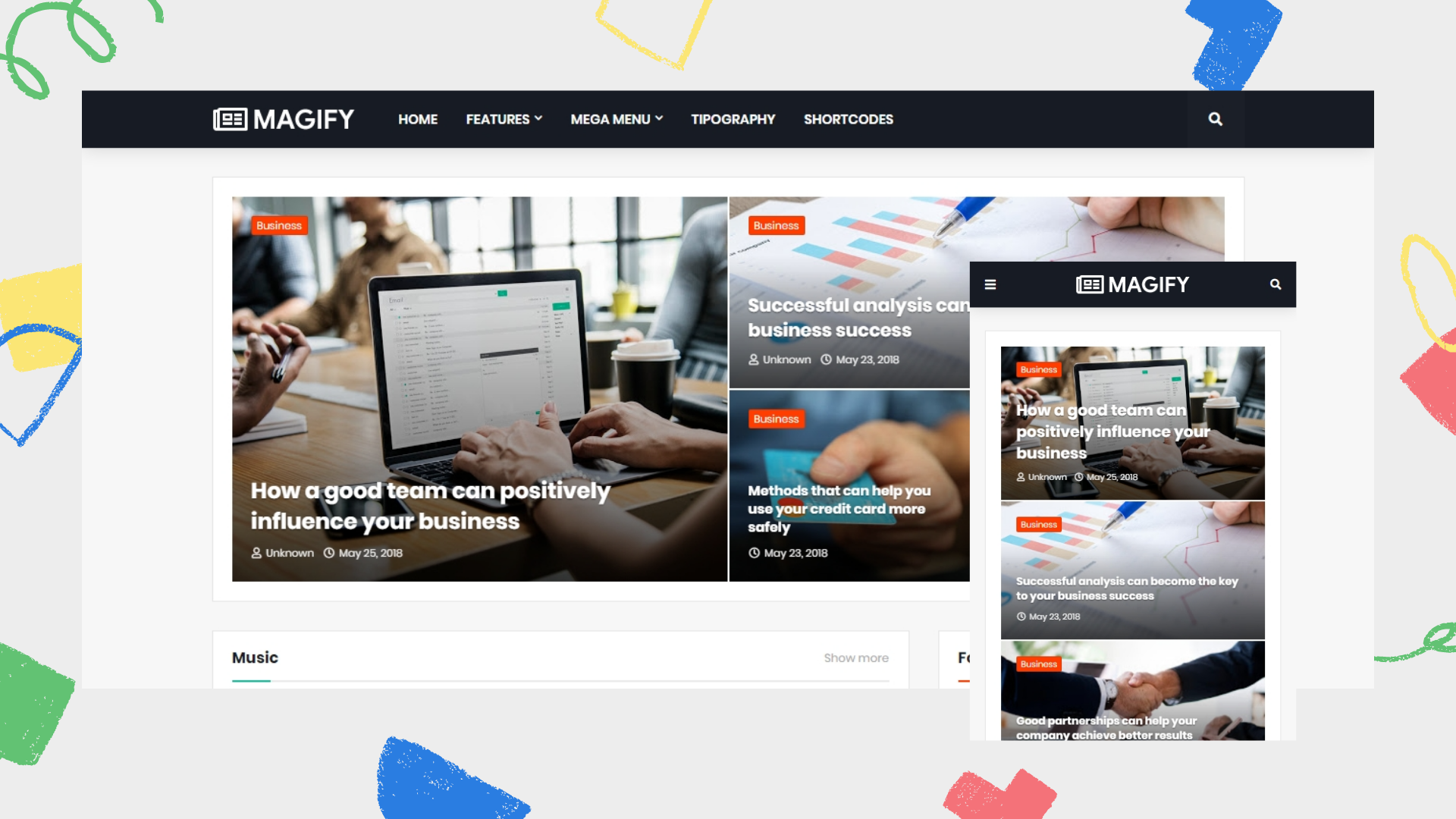 magify-premium-blogger-template