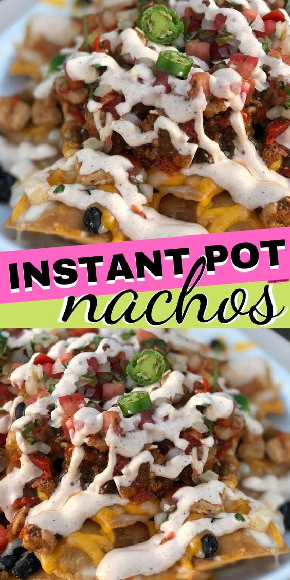 Instant Pot Nachos (Pressure Cooker Recipes)