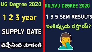 ku-degree-1 3 5-semester-results-2020