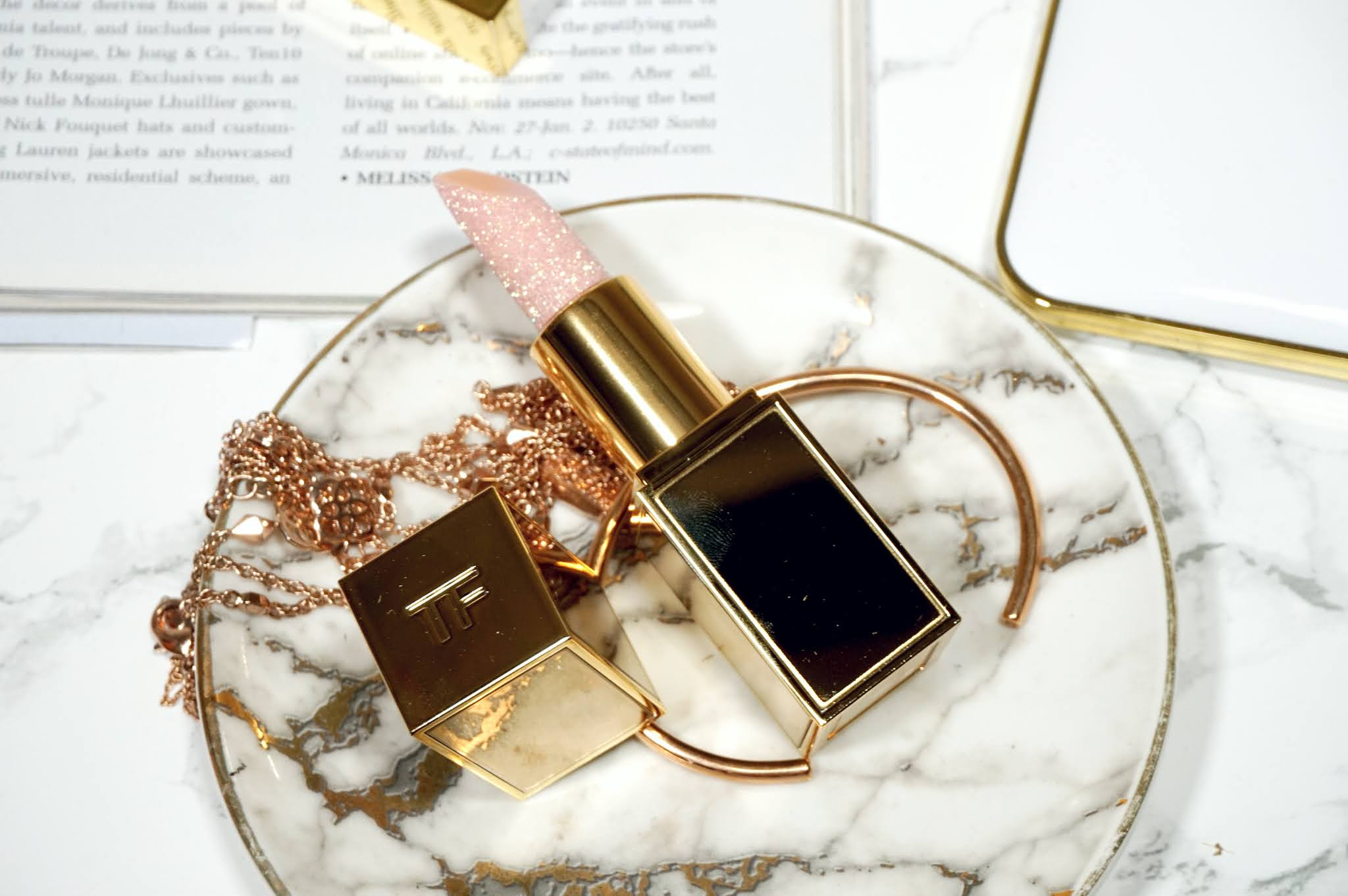 Tom Ford Soleil Neige Lip Balm Frost Review and Swatches