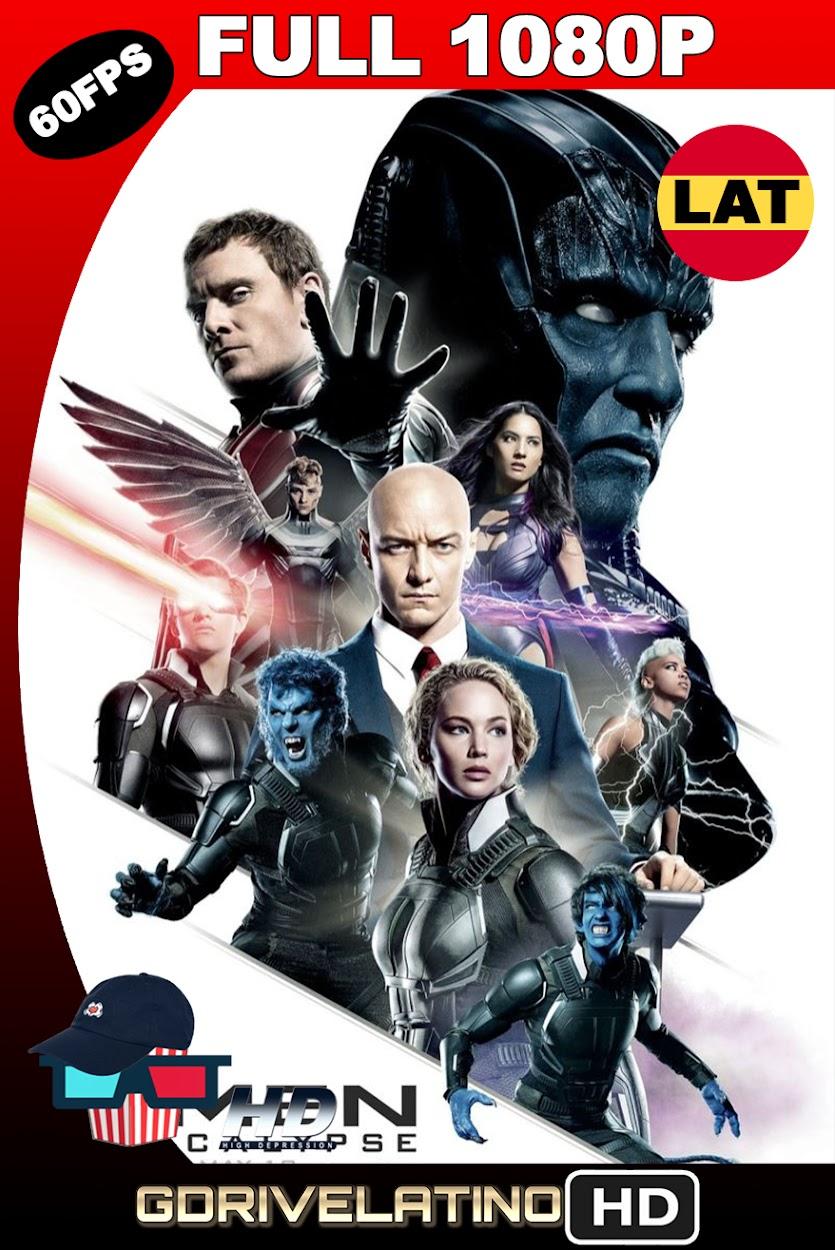 X-Men : Apocalipsis (2016) BDRip 1080p (60fps) Latino-Ingles MKV