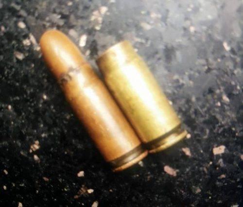 Vỏ đạn tại hiện trường vụ án