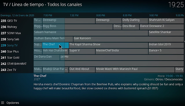 england tv channels epg kodi