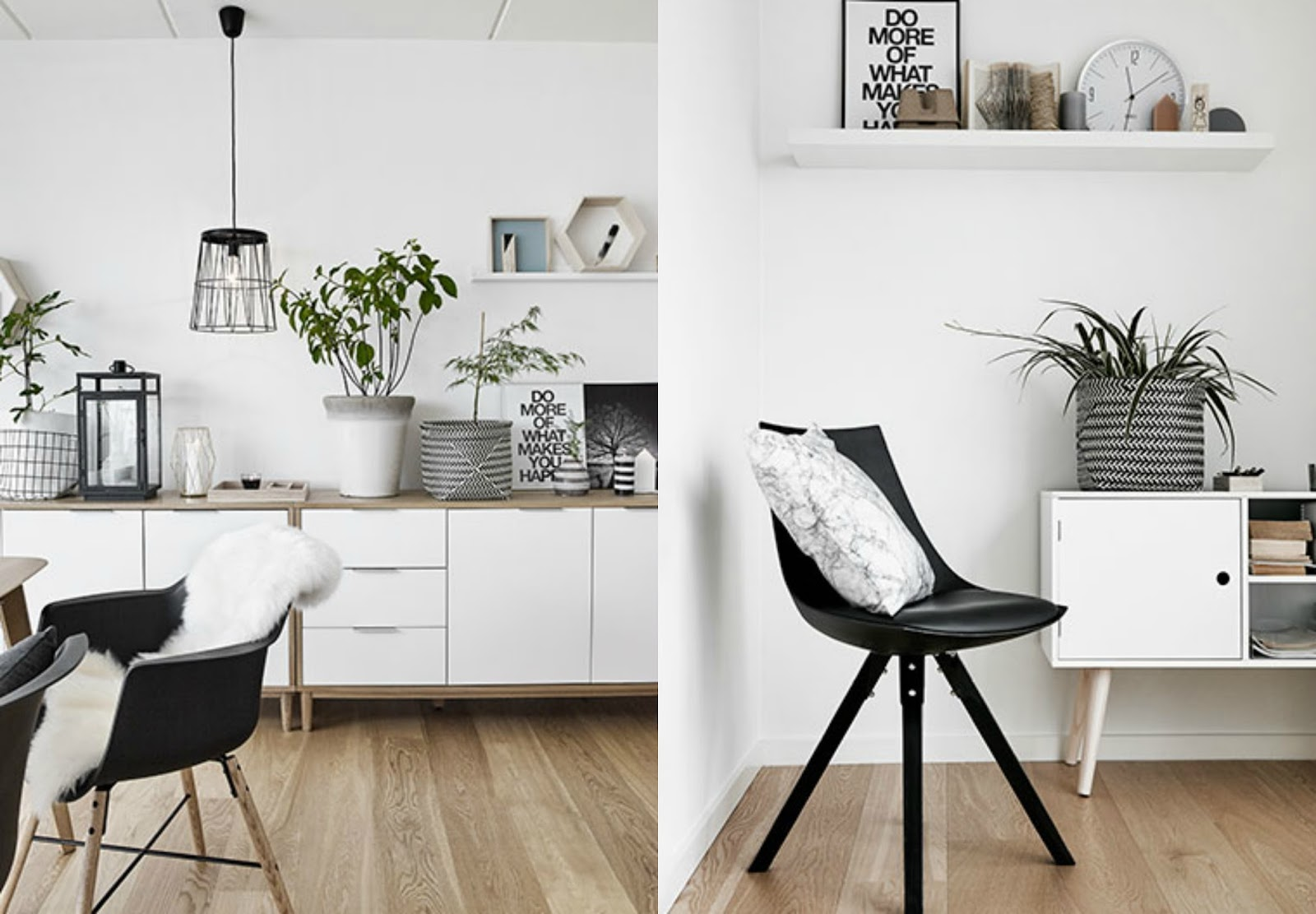 Scandinavian home decor style
