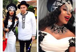 Pics of traditional wedding for Linda Mtoba and Steven Meyer