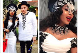 Pics of traditional wedding for Linda Mtoba and Steven Meyer