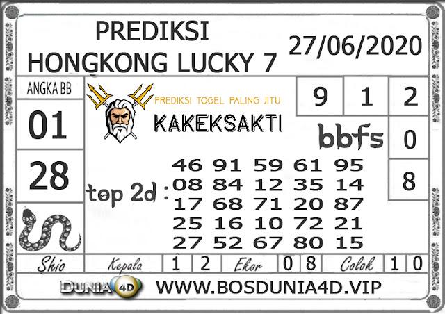 Prediksi Togel HONGKONG LUCKY 7 DUNIA4D 27 JUNI 2020