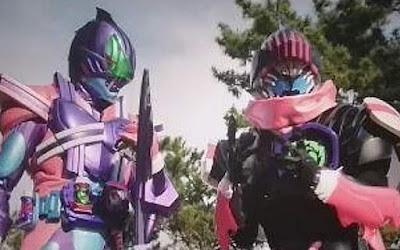 Superhero Senki - Kamen Rider Devi & Vice Megalodon Forms