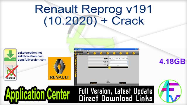 Renault Reprog v191 (10.2020) + Crack