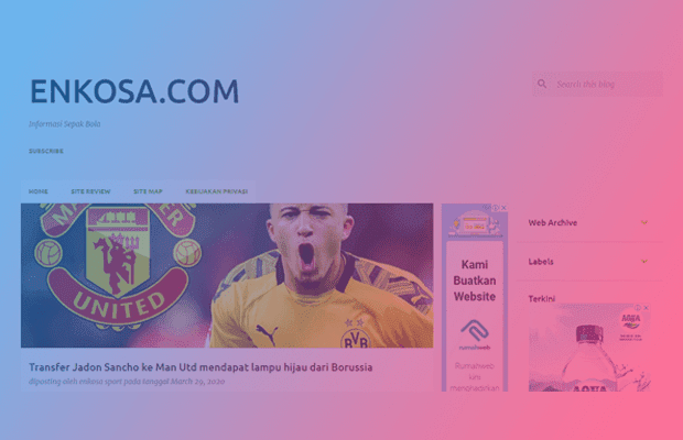 Review Blog Enkosa - Blog Seputar Informasi Sepak Bola